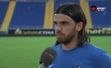 Цветкович: При новия треньор играем по-добре