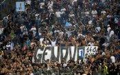 Карабинерите в Рим подкараха феновете на Лацио