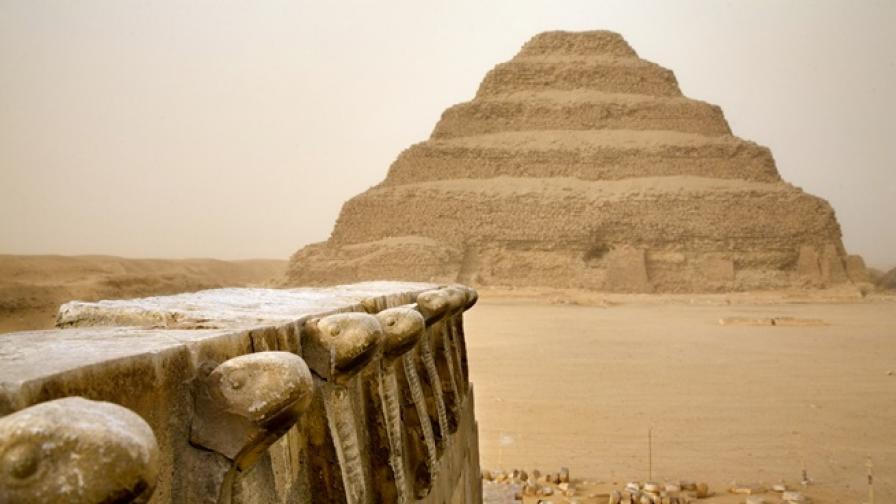некропол саккара египет