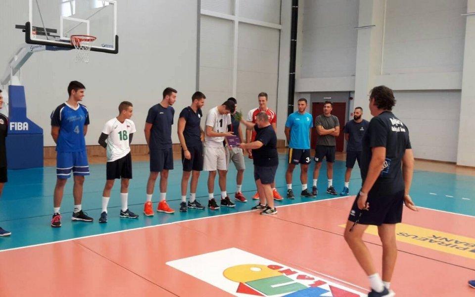 Карагьозов изведе ВК Марек за първа тренировка за новия сезон