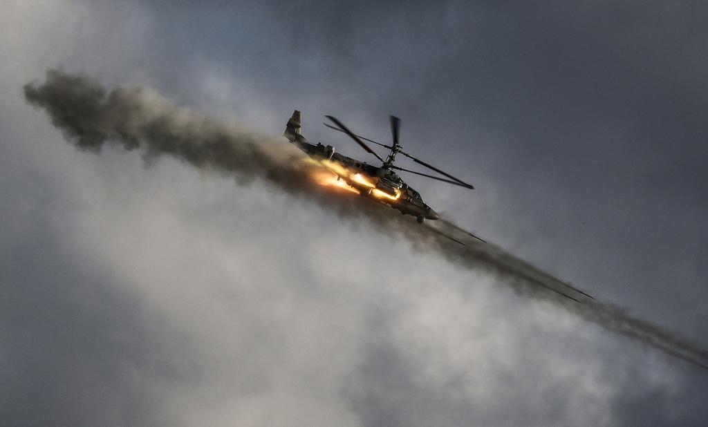 """Камов Ka-50 """"Черна акула"""" многоцелеви боен вертолет"""