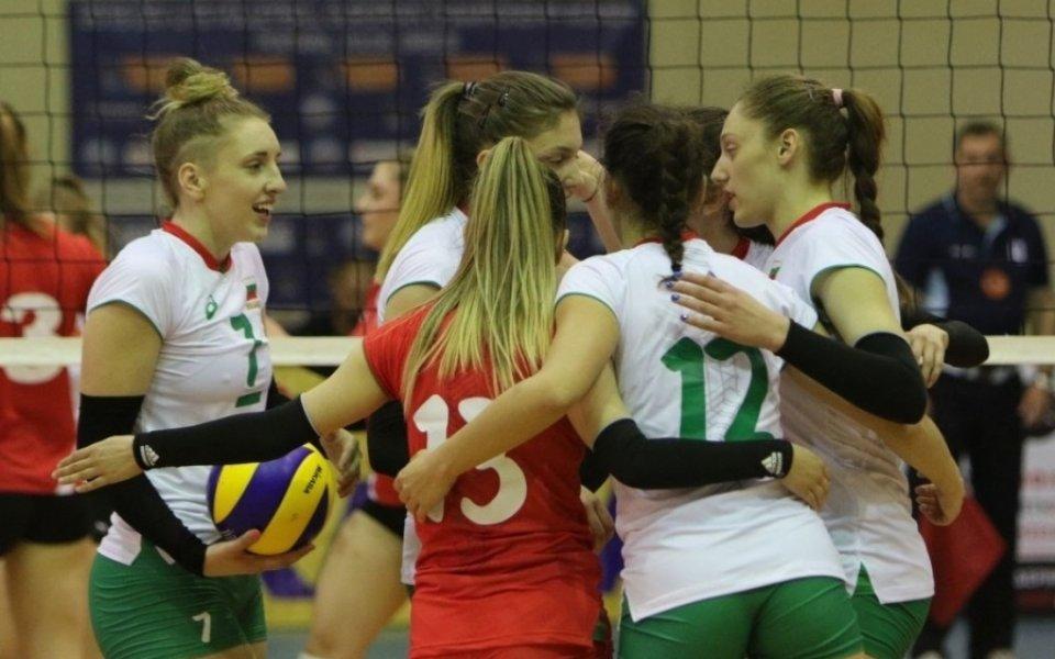 Волейболистките ни до 19 години на полуфинал на Балканиадата в Сърбия