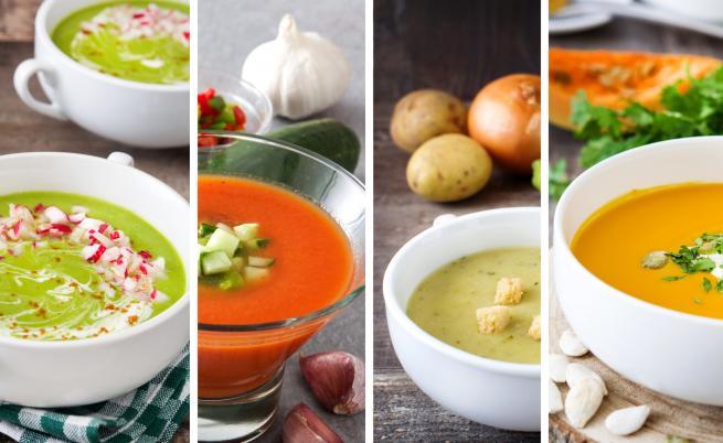 5 идеи за студена супа - не е нужно винаги да етаратор
