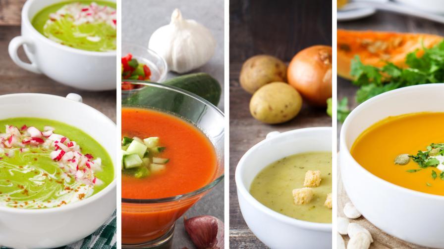 5 идеи за студена супа - не е нужно винаги да е таратор