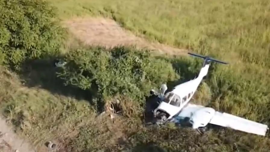 Пострадалият в авиокатастрофата край Шумен остава в критично състояние