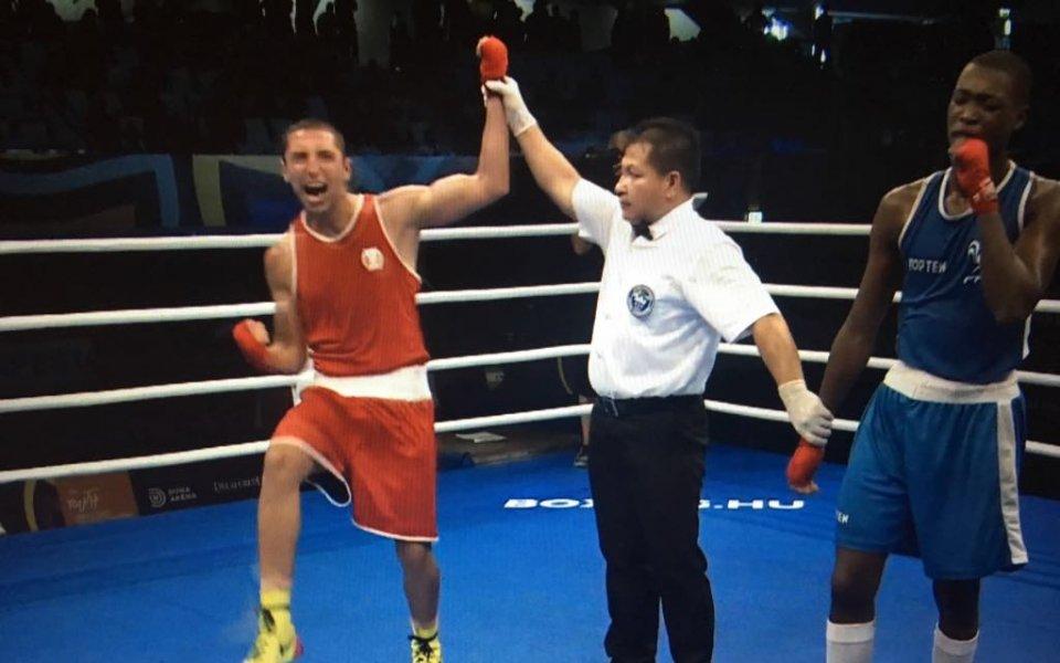 Атанасов е 1/4-финалист на световното по бокс за младежи