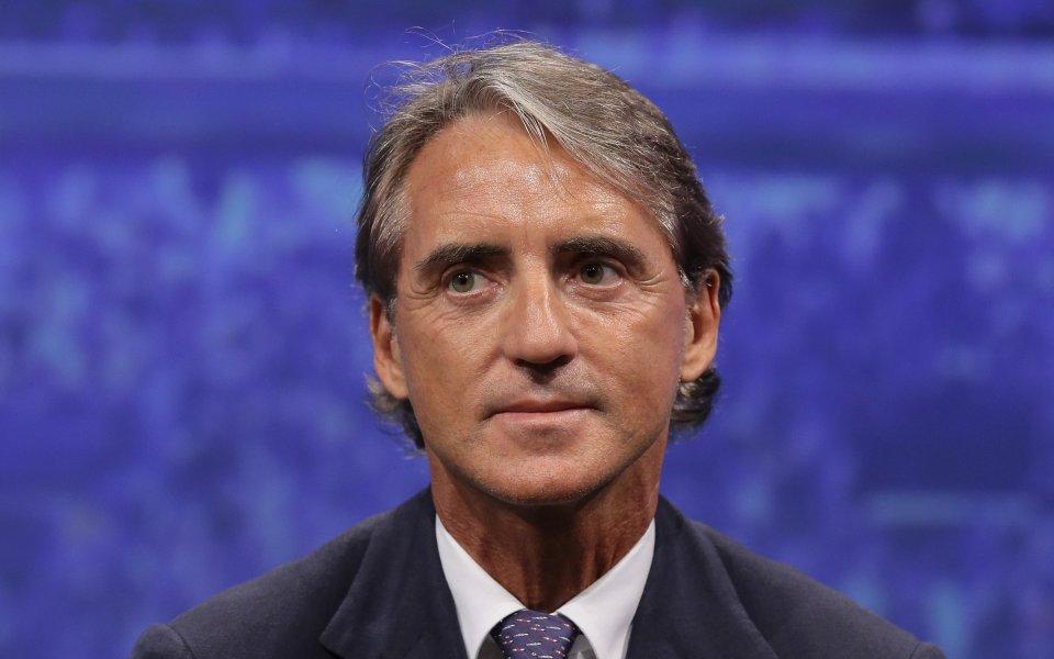 Манчини записва първи официален успех начело на Италия