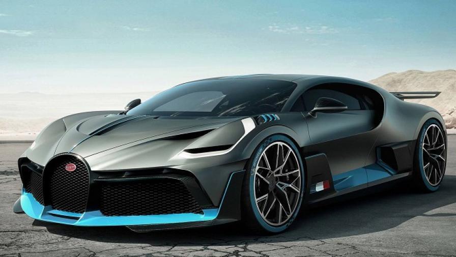 Bugatti Divo е най-скъпият автомобил в света
