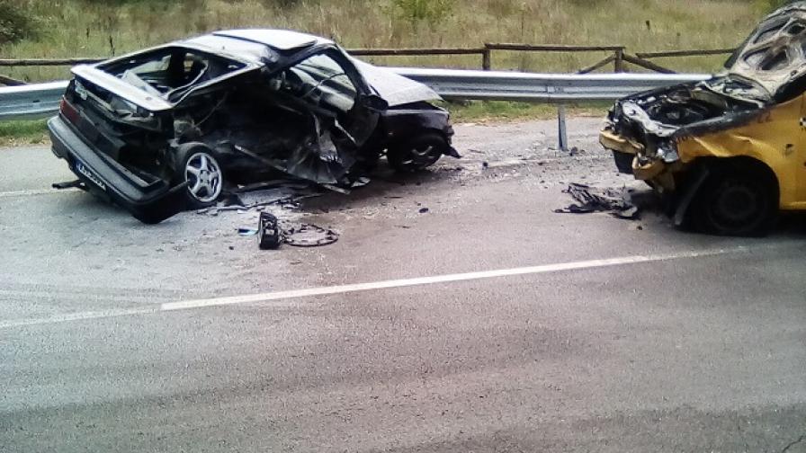 Катастрофа край Дупница, 23-годишен младеж загина