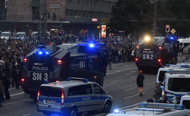 Насилие и протести след убийство в Германия
