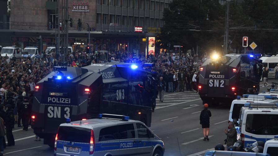 Българин заплашван по време на безредиците в Германия
