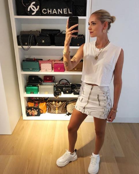 """3. <a href=""""https://www.instagram.com/chiaraferragni/"""">Киара Ферани</a> е моден дизайнер и блогър с 14 млн. последователи в мрежата, а всеки неин пост е равен на сумата от 27 хил. долара."""