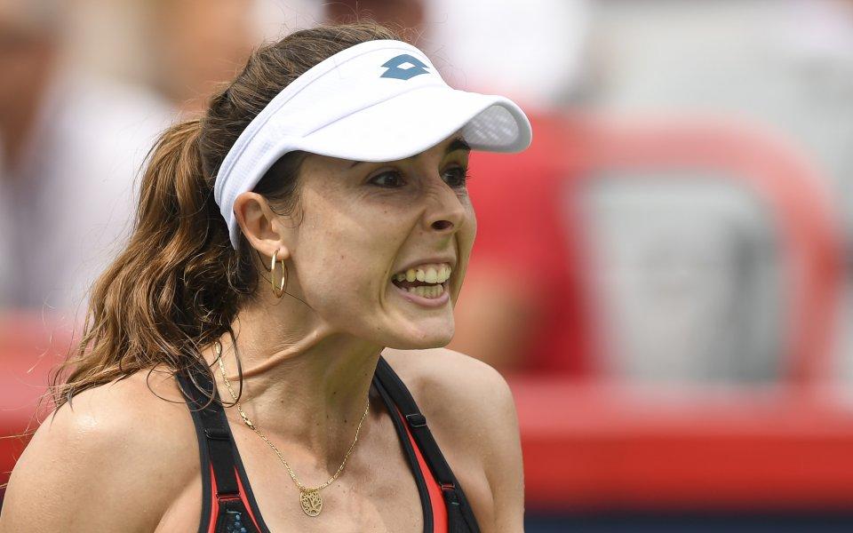 Тенисистка се преоблече на корта на US Open, разпали скандал