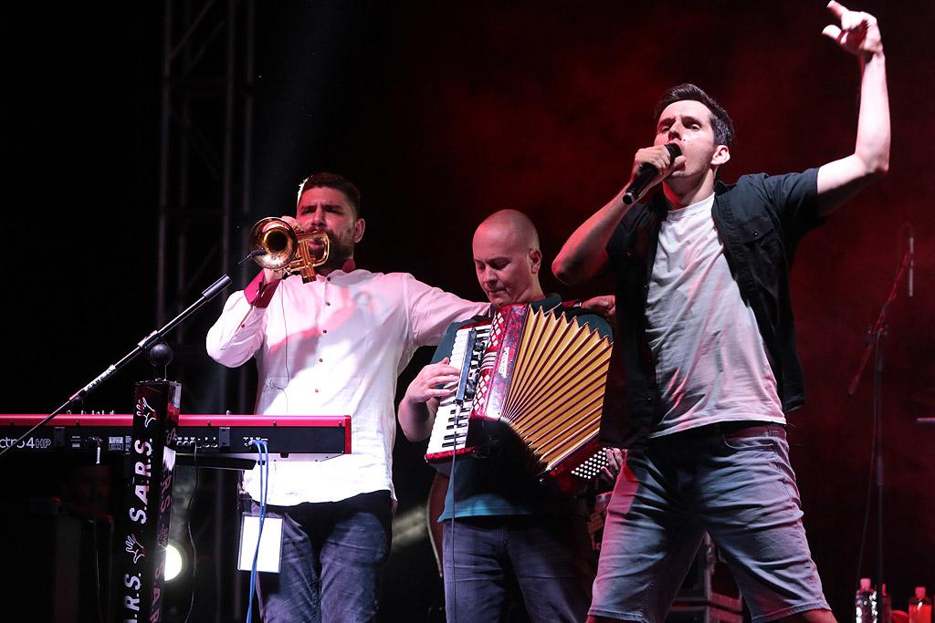 S.A.R.S. на живо в Летен Театър Пловдив