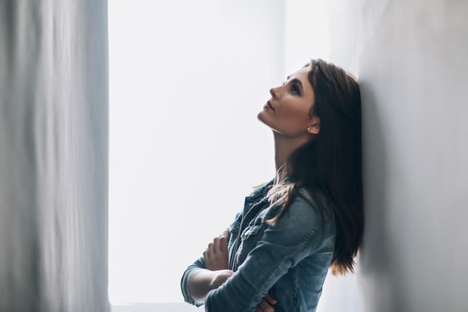 жена тъжна тъга