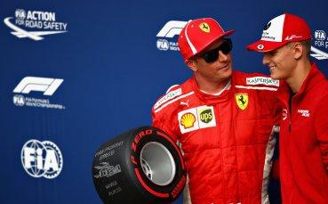 Отново Шумахер зад волана на Ферари във Формула 1?