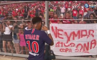 Тухел: Неймар ще играе срещу Ливърпул