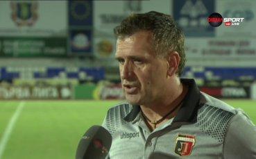 Бруно Акрапович: Искам да се реваншираме срещу Левски