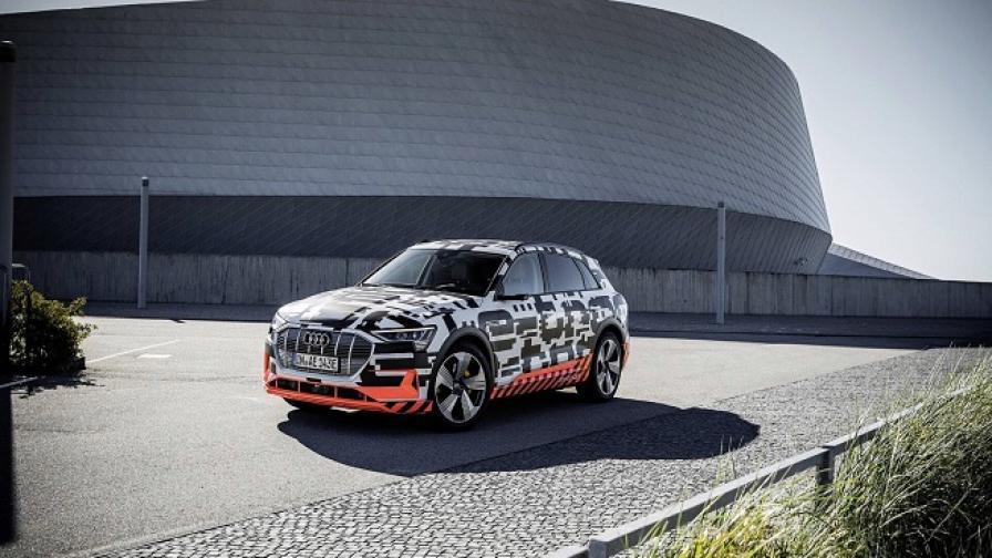 Започна производството на електрическия Audi E-Tron