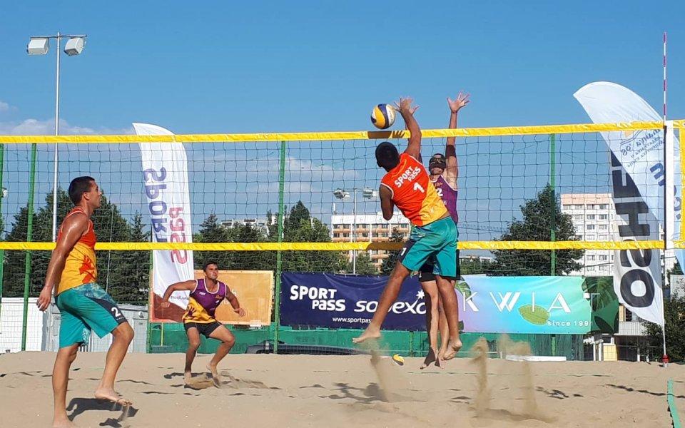 Торбов и Тренчев на върха в шампионския турнир от Beach Volley Mania