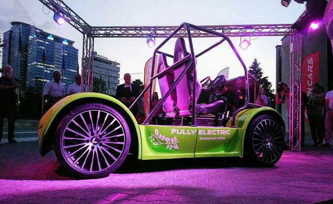 Българската Sin Cars показа електрическата модулна платформа L City