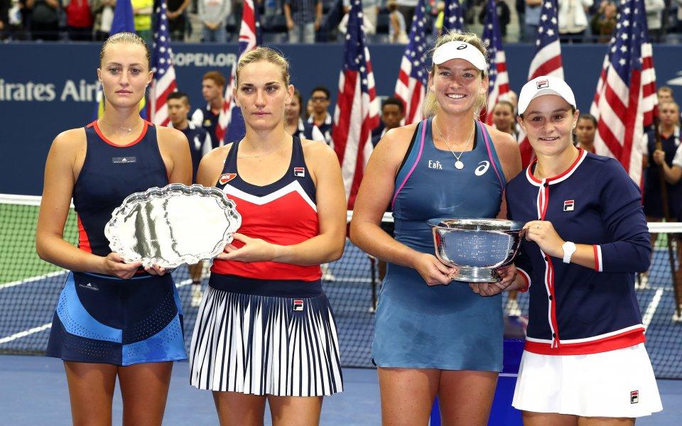 Барти и Вандеуей с титлата на двойки при жените на US Open