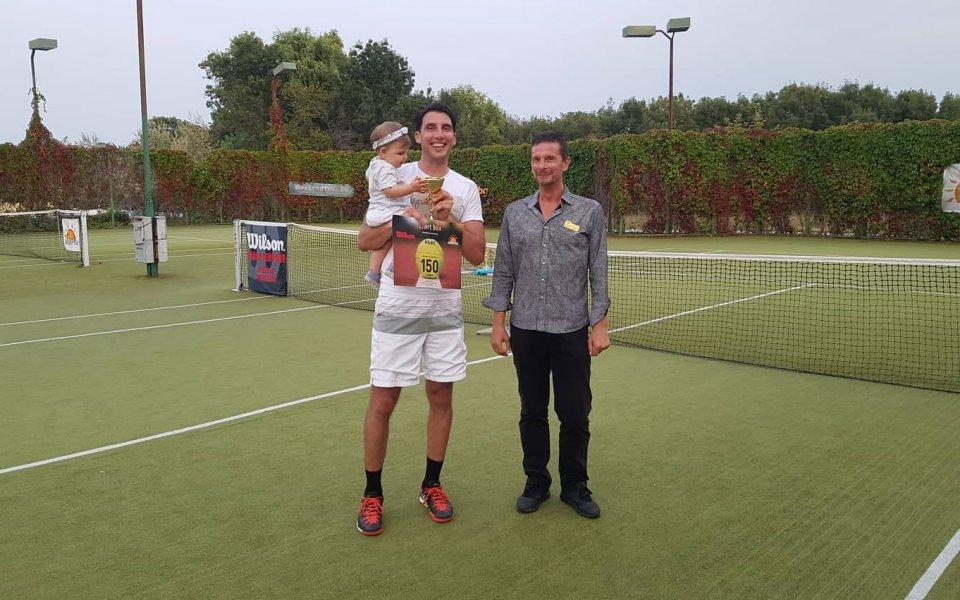 Едиз Батран е първият шампион на Duni Tennis Holiday