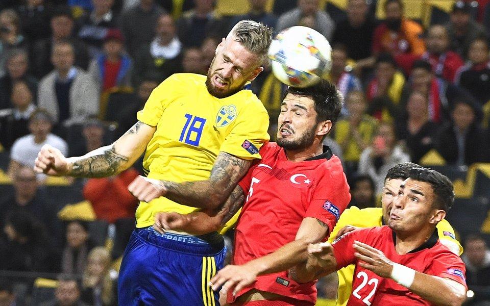 Турция с паметен обрат срещу Швеция от 0:2