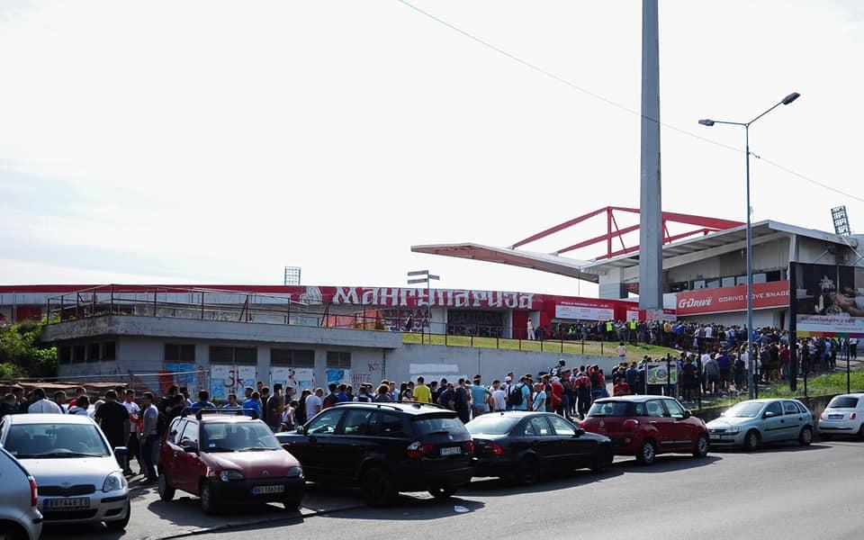 Цървена звезда разпродаде стадиона си за 3 часа