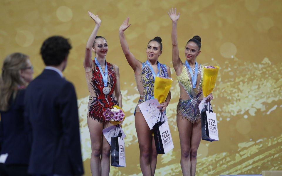 Катрин Тасева донесе бронз от многобоя в Бърно