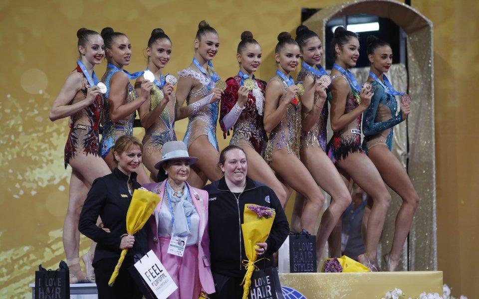Грациите донесоха отборен бронз от Европейското в Баку