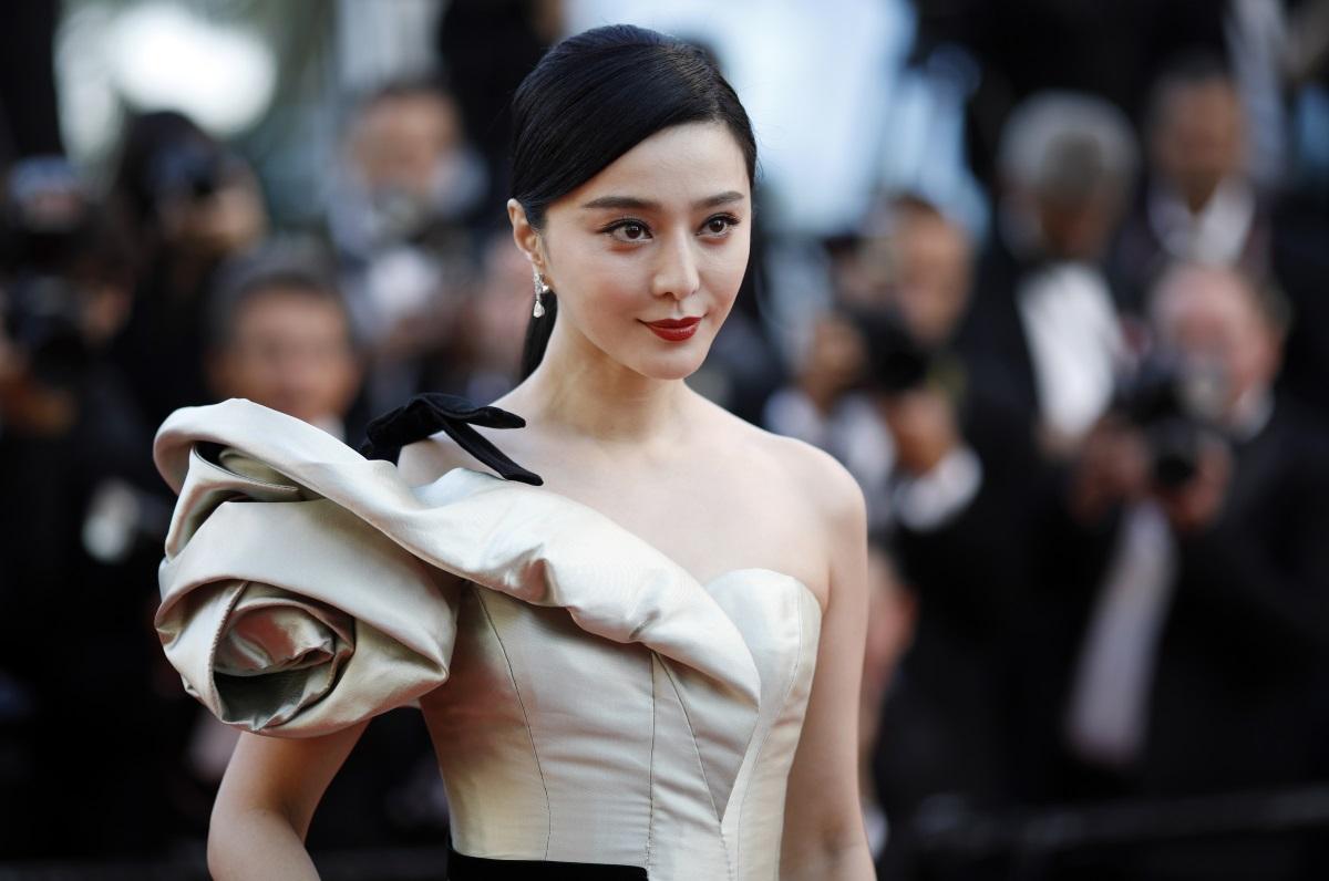 Фан Бинбин на кинофестивала в Кан, май 2018