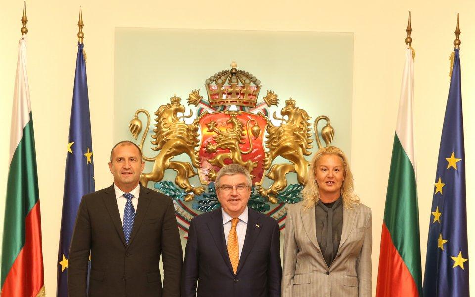 Бах: Тръгвам си с прекрасни впечатления и чувства от България