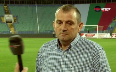 Загорчич: Резултатът е справедлив