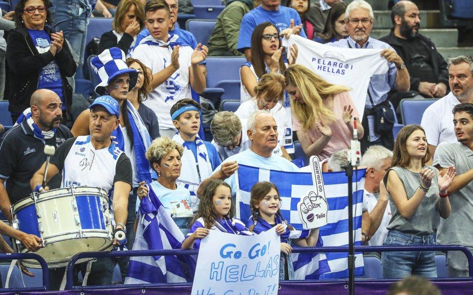 Германия и Гърция първи от Европа взеха визи за Световното по баскетбол