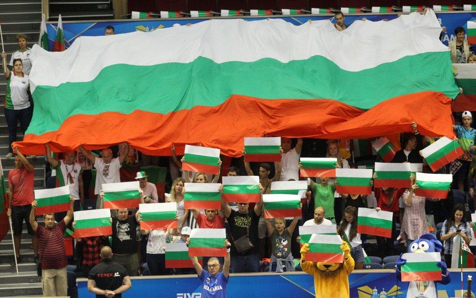 Избрани кадри от триумфа на България над Куба