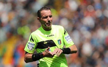 Италианец свири първия мач на Лудогорец в Лига Европа
