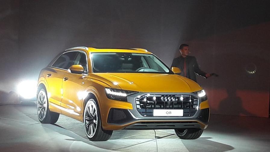 Първото SUV-купе на Audi дебютира у нас