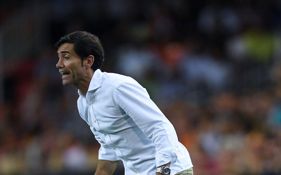 Треньорът на Валенсия: Изпуснахме победата срещу Манчестър Юнайтед
