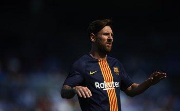 Меси няма да играе за Аржентина поне до края на годината