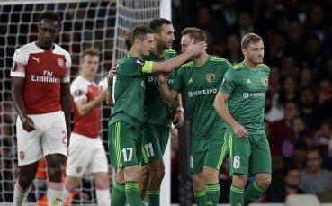 Излизаш срещу Арсенал, миеш се с...плюнка