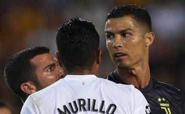 В Реал коментираха изгонването на Роналдо