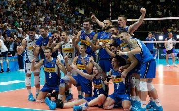 Италия записа втора победа в Лигата на нациите във Варна