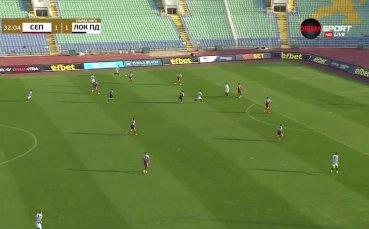 Септември - Локомотив Пд 1:1 /първо полувреме/