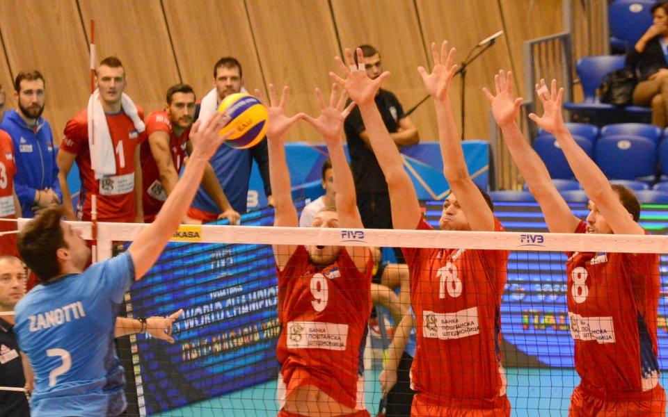 Сърбия с важна победа над Аржентина на Световното по волейбол