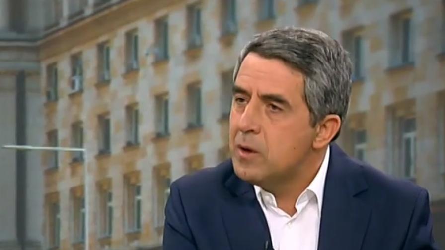 Плевнелиев обвини Радев в зависимост от Москва
