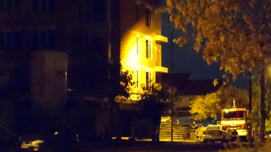 Млад мъж загина тази сутрин в строеж в Благоевград