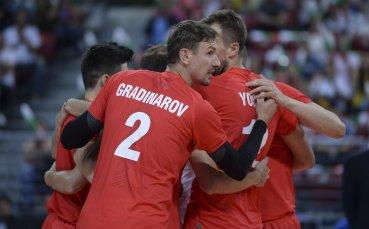 На живо: Канада взе първия гейм и продължава да мачка България