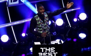Жилетката на Гарет Саутгейт – хит на церемонията на ФИФА