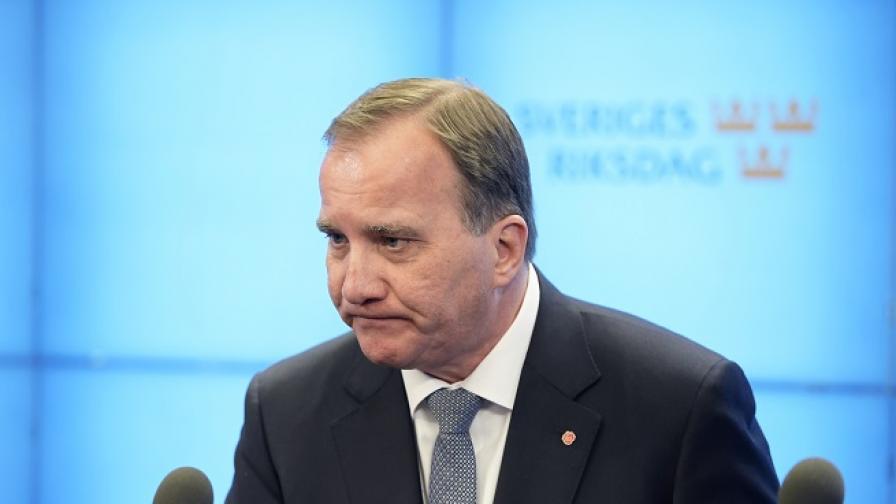 Шведският премиер свален с вот на недоверие